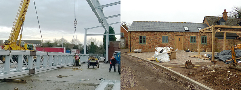 Structural engineering works in Warwick